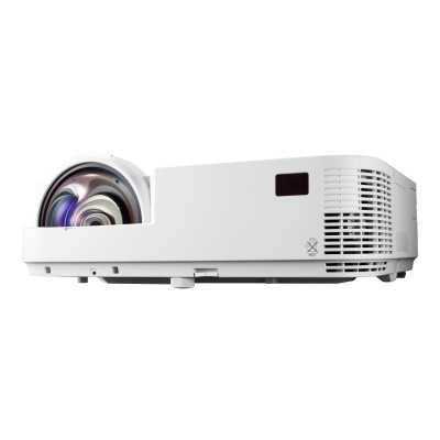 NEC Displays NP-M333XS M333XS - DLP projector - 3D - 3300 ANSI lumens - XGA (1024 x 768) - 4:3 - short-throw fixed lens - LAN with 1 year InstaCare Service