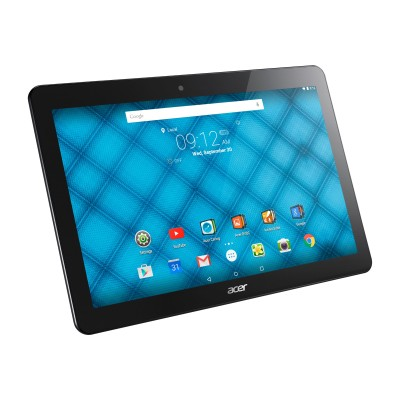 Acer NT.LB6AA.001 ICONIA ONE 10 B3-A10-K3BF - Tablet - Android 5.1 - 16 GB eMMC - 10.1 IPS (1280 x 800) - USB host - microSD slot - black