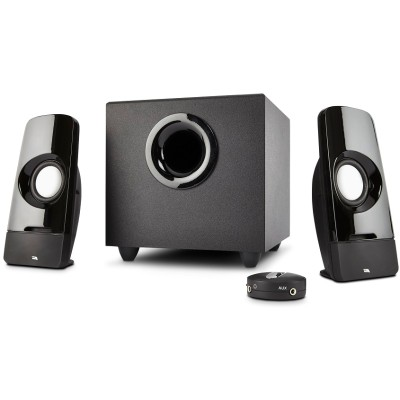 Cyber Acoustics CA-3050 Curve.Blast - 16W Peak Power - Speaker System with Control Pod