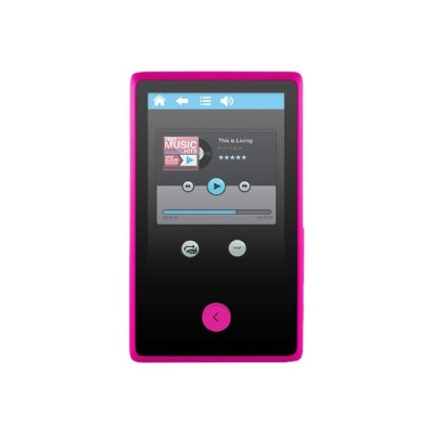 e-matic EM318VIDPN EM318VID - Digital player - 8 GB - display: 2.4 in - pink