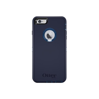 Otterbox 77-52240 Defender Series Apple iPhone 6s - Back cover for cell phone - polycarbonate synthetic rubber - indigo harbor - for Apple iPhone 6s Plus