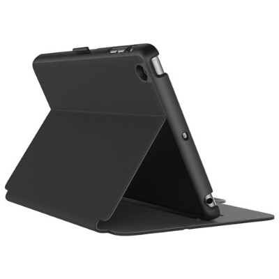 Speck Products 71805-B565 StyleFolio iPad Case for iPad mini 4 - Black/Slate Grey