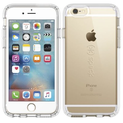 Speck Products 73685-5085 CandyShell - Back cover for cell phone - silicone - clear - for Apple iPhone 6 Plus 6s Plus