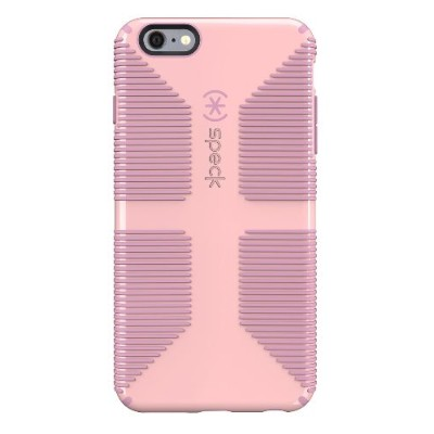 Speck Products 73428-C303 CandyShell Grip Case for iPhone 6 Plus / iPhone 6s Plus  Quartz Pink/Pale Rose Pink