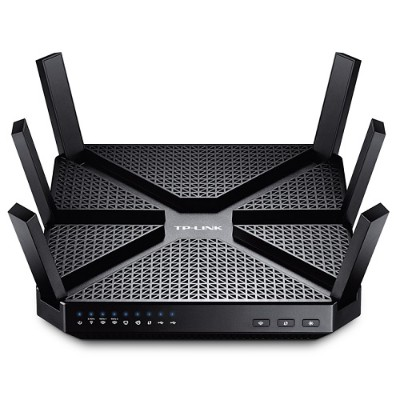 TP-Link ARCHER C3200 Archer C3200 - Wireless router - 4-port switch - GigE - 802.11a/b/g/n/ac - Tri-Band