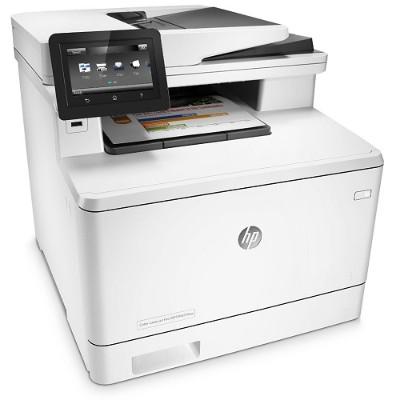 HP Inc. CF377A#BGJ Color LaserJet Pro MFP M477fnw Printer
