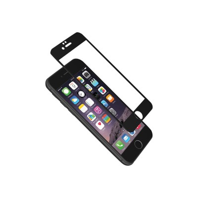 Cygnett CY1730CPTGL AeroCurve - Screen protector - black - for Apple iPhone 6  6s