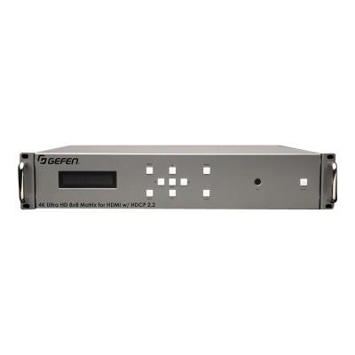 Gefen EXT-UHD-88 4K Ultra HD 8x8 Matrix for HDMI - Video/audio switch - desktop  rack-mountable