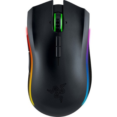 Razer USA RZ01-01360100-R3U1 Mamba - Chroma Ergonomic Wireless Gaming Mouse - The world's most precise gaming mouse sensor with 16 000 DPI - New Arrival - Free