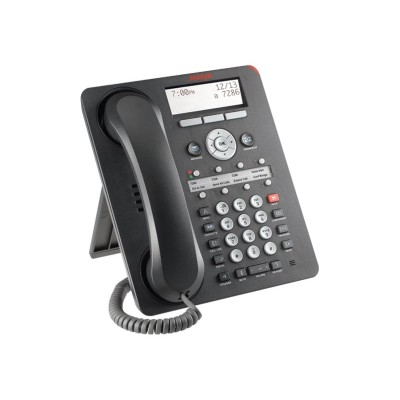 Avaya 700510909 1408 Digital Deskphone - Digital phone - black (pack of 4)