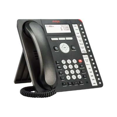 Avaya 700510910 1416 Digital Deskphone - Digital phone - black (pack of 4)