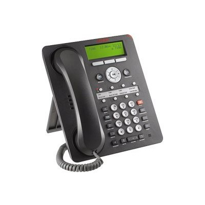 Avaya 700510907 one-X Deskphone Value Edition 1608-I - VoIP phone - H.323 - black (pack of 4)