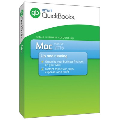 Intuit 426515 QuickBooks Mac 2016 Small Business Accounting Software