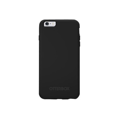 Otterbox 77-52839 Symmetry Series Pro Pack - ProPack Each - back cover for cell phone - polycarbonate  synthetic rubber - black - for Apple iPhone 6 Plus  6s Pl