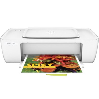 HP Inc. F5S23A#B1H DeskJet 1112 Printer - Designed to fit tight spaces and budgets - Color Inkjet - 16PPM Draft