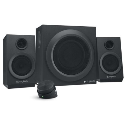 Logitech 980-001203 Multimedia Speakers Z333 - Black