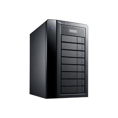 Promise P2R8HD48HUS Pegasus2 R8 - Hard drive array - 48 TB - 8 bays (SATA-600) - HDD 6 TB x 8 - Thunderbolt 2 (external)