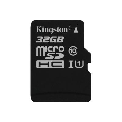 Kingston Digital SDC10G2/32GBSP 32GB microSDHC Class 10 UHS-I 45R Flash Card Single Pack w/o Adapter