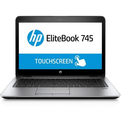 HP Inc. T3L36UT#ABA Smart Buy EliteBook 745 G3 AMD Pro A12-8800B Quad-Core 2.10GHz Notebook PC - 8GB RAM  256GB SSD  14 LED FHD Touch  Gigabit Ethernet  802.11a