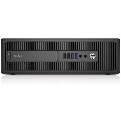 HP Inc. P4K00UT#ABA Smart Buy EliteDesk 800 G2 Intel Core i7-6700 Quad-Core 3.40GHz Small Form Factor PC - 4GB RAM  1TB HDD  Slim DVDRW  Gigabit Ethernet