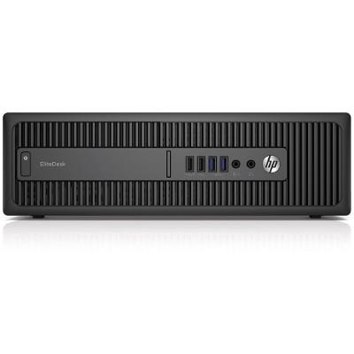 HP Inc. P4K07UT#ABA Smart Buy EliteDesk 800 G2 Intel Core i7-6700 Quad-Core 3.40GHz Small Form Factor PC - 8GB RAM  256GB SSD  Slim DVDRW  Gigabit Ethernet