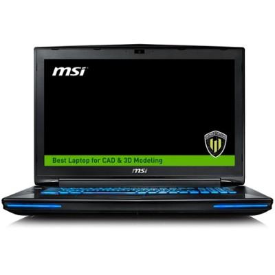 MSI WT72 6QJ-200US WT72 6QJ-200US Intel Core i7-6700HQ Quad-Core 2.60GHz Gaming Notebook - 16GB RAM 128GB SSD + 1TB HDD 17.3 Full HD DVD Super Multi Gigabit