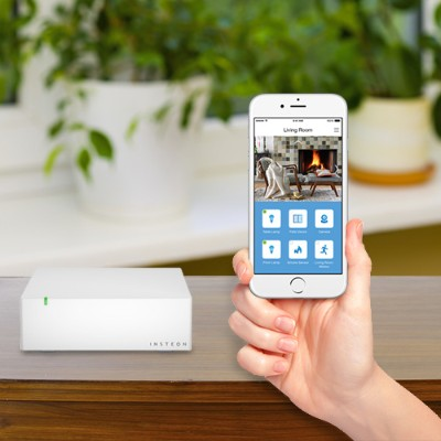 Insteon 2245-222 Hub 2 - Control a huge family of connected devices  all from your smartphone  tablet and now the Apple Watch