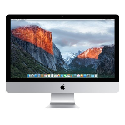 Apple MK482LL/A 27 iMac with Retina 5K display  Quad-Core Intel Core i5 3.3GHz  8GB RAM  2TB Fusion Drive  AMD Radeon R9 M395 with 2GB of GDDR5 memory  Two Thun