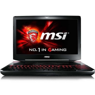 MSI GT80STSLI002 GT80S TITAN SLI-002 Intel Core i7-6820HK Quad-Core 2.70GHz Gaming Notebook - 24GB RAM 128GBx2 SSD + 1TB HDD 18.4 Full HD Blu-ray Disc Gigab