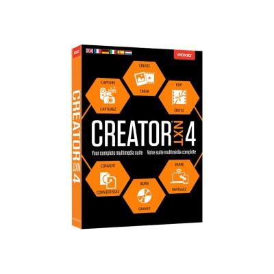 Corel RCRNXT4MLMBAM Roxio Creator NXT - (v. 4) - box pack - 1 user (mini-box) - Win - English  Spanish
