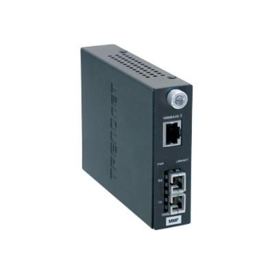 TRENDnet TFC-1000MSC 1000Base-T to1000Base-SX Multi-Mode Fiber Converter with SC Connector