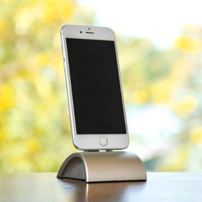 Wiplabs Designs 804879224662 iDockAll Lightning - Silver - The Ultimate Docking Solution for iPhones & iPads