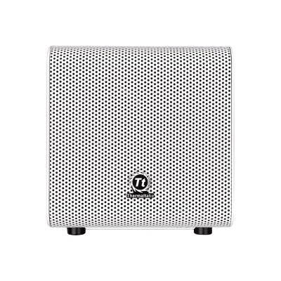 ThermalTake CA-1B8-00S6WN-01 Core V1 Snow Edition - Mini tower - mini ITX - no power supply (PS/2) - white - USB/Audio
