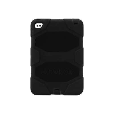 Griffin GB41353 Survivor All-Terrain - Protective case for tablet - rugged - silicone  polycarbonate - black - for Apple iPad mini 4