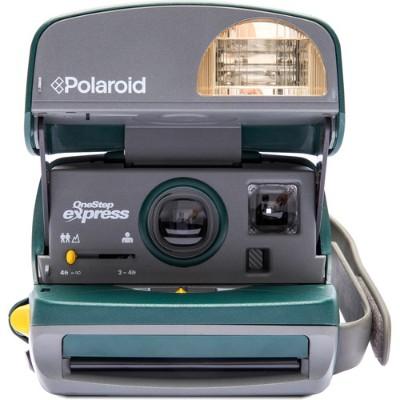 Impossible PRD_2875 Polaroid 600 Camera – Round - Green