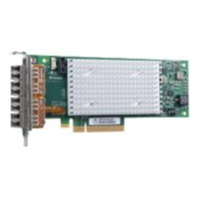 Qlogic QLE2694L-CK QLE2694L-CK - Host bus adapter - PCIe 3.0 x8 low profile - 16Gb Fibre Channel x 4