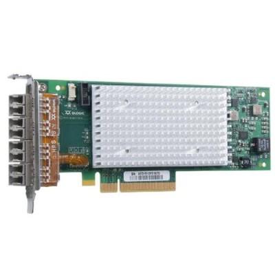 Qlogic QLE2694-SR-CK QLE2694-SR-CK - Host bus adapter - PCIe 3.0 x8 - 16Gb Fibre Channel x 4