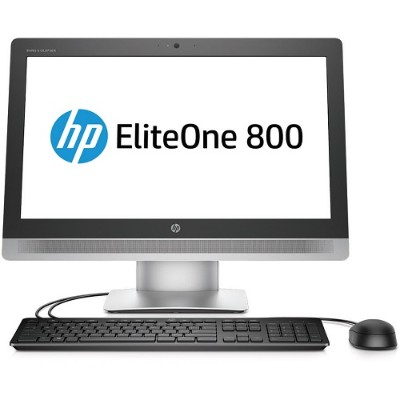 HP Inc. P5V03UT#ABA Smart Buy EliteOne 800 G2 Intel Core i5-6500 Quad-Core 3.20GHz All-in-One PC - 4GB RAM  500GB HDD  23 IPS FHD LED Non-Touch  SuperMulti DVD