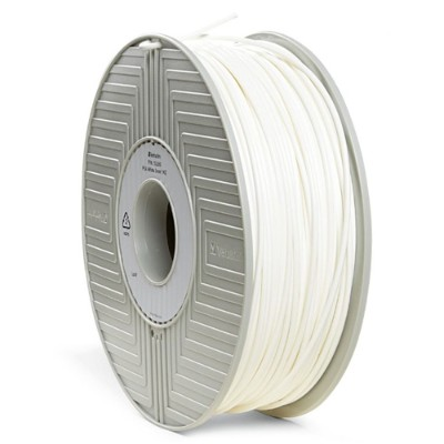 Verbatim 55260 White - 2.2 lbs - PLA filament ( 3D ) - for bq Witbox  MakerBot Replicator 2