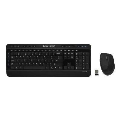 Gear Head KB5975W Wireless Media Pro II Keyboard and Optical Mouse
