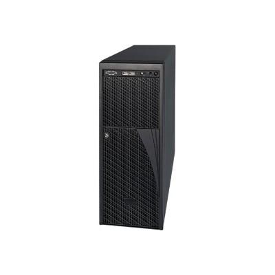 Intel P4000XXSFDR Server Chassis P4000XXSFDR - Tower - 4U - micro ATX - power supply - redundant 460 Watt - USB