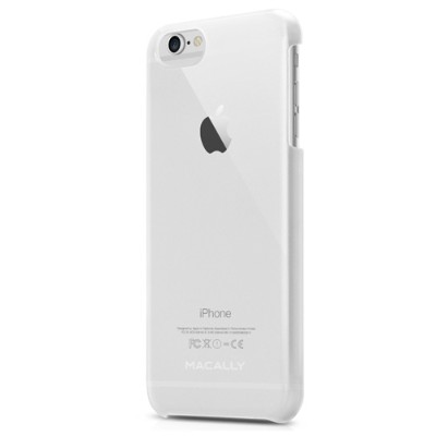 MacAlly Peripherals SNAPP6LC Metallic Snap-On Case for iPhone 6/6s Plus - Clear