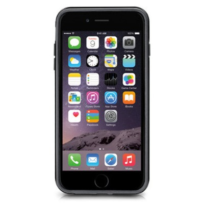 MacAlly Peripherals RIMP6LB Flexible Protective Frame for iPhone 6/6s Plus - Black