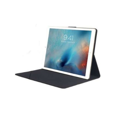 Tucano IPDPCL-BK Club folio with stand up and poit-shoot flap for iPad Pro - Black