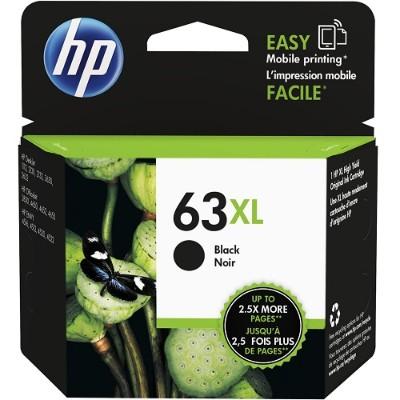 HP Inc. F6U64AN#140 63XL High Yield Black Original Ink Cartridge