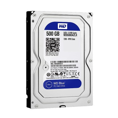 WD WD5000AZLX Blue 500GB 32MB Cache 7200rpm SATA 6Gb/s 3.5 PC Desktop Hard Drive