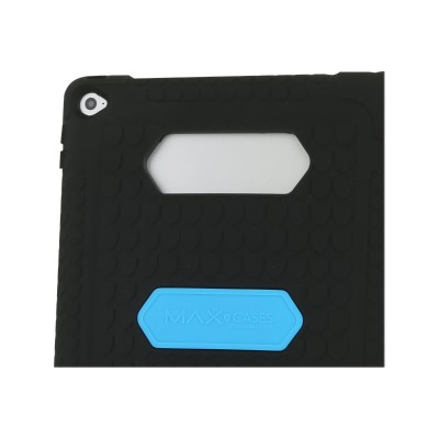 Max Cases 808A2 Max Cases Shield - Protective case for tablet - rugged - silicone  polycarbonate - for Apple iPad Air 2