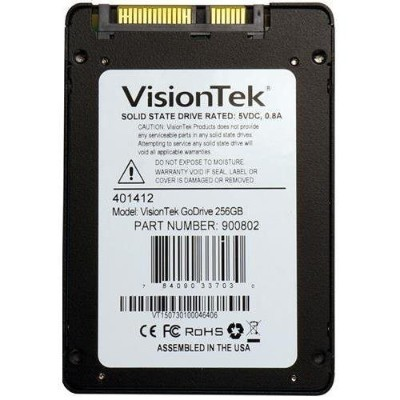 Visiontek 900802 256GB GO DRIVE LOW PROF 7MM SSD