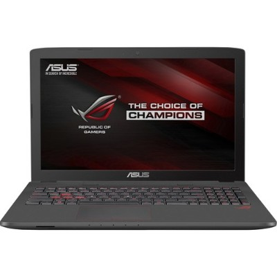ASUS 90NB09I3-M02490 ROG GL552VW-DH74 Intel Core i7-6700HQ Quad-Core 2.60GHz Gaming Laptop - 16GB RAM 128GB SSD + 1TB HDD 15.6-inch Full HD DL DVDRW\/CD-RW