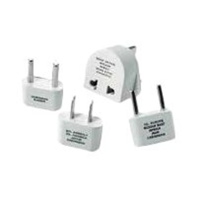 Conair Corporation M500ENR Travel Smart Adapter Plug Set - Power connector adapter kit